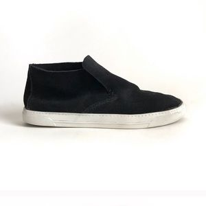 Dolce Vita Black Suede Leather Slip Ons Size 9
